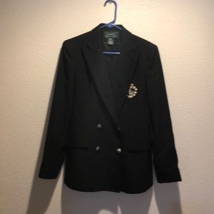 Ralph Lauren blazer with crest